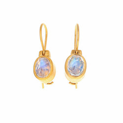 HANGING MOONSTONE EARRINGS
