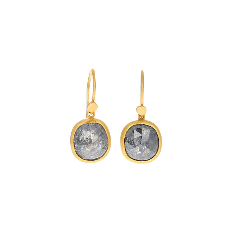 RUSTIC DIAMOND EARRINGS