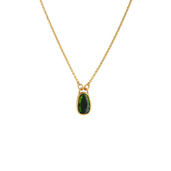 TOURMALINE PENDANT NECKLACE
