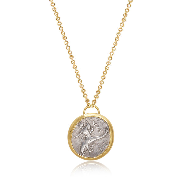 ANCIENT GREEK COIN NECKLACE