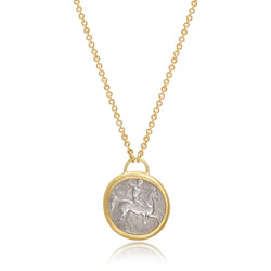 ANCIENT COIN GOLD CHAIN