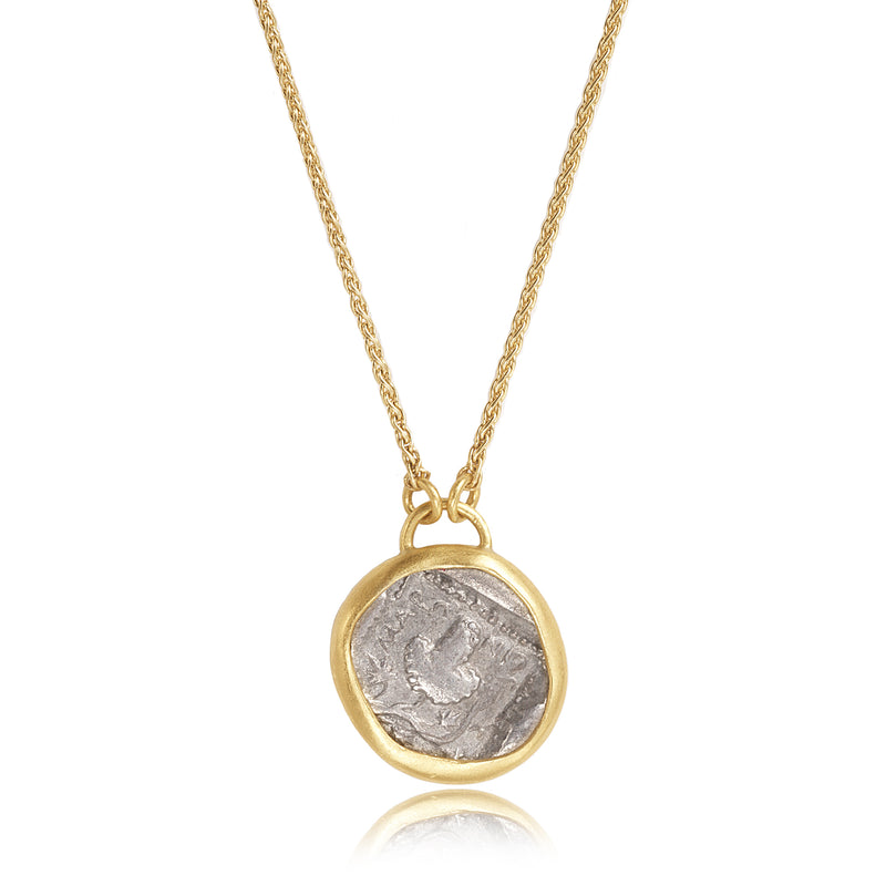 ANCIENT GRAPE COIN NECKLACE