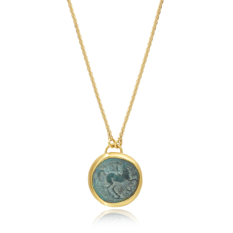PEGASUS COIN NECKLACE