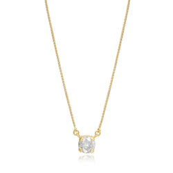 ROUND WHITE DIAMOND PENDANT