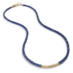 SAPPHIRE STRAND NECKLACE