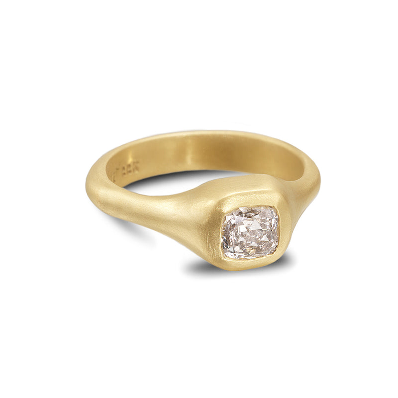 MOGUL CUT DIAMOND RING
