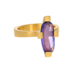 ROYAL SET PURPLE SAPPHIRE RING