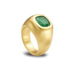 INVIDIA EMERALD DOME RING