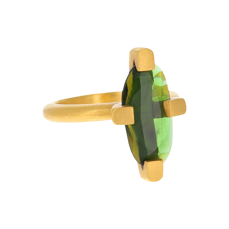 ROYAL SET TOURMALINE RING