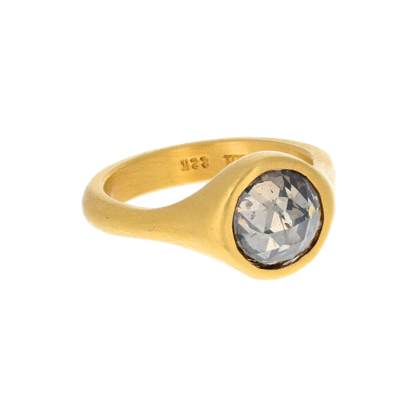 BROWN DIAMOND NESTING RING