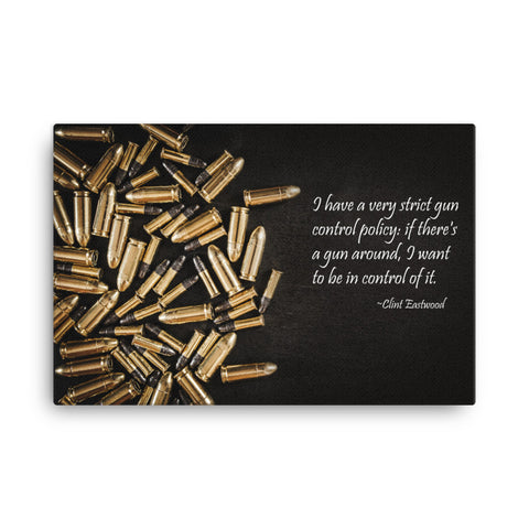 Clint Eastwood Quote | Prime Gallery Wall Art