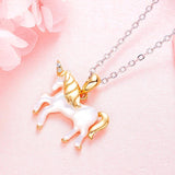 Sterling Silver Unicorn Necklace Pendant Necklaces