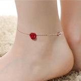 Rose Flower Bracelets for Women