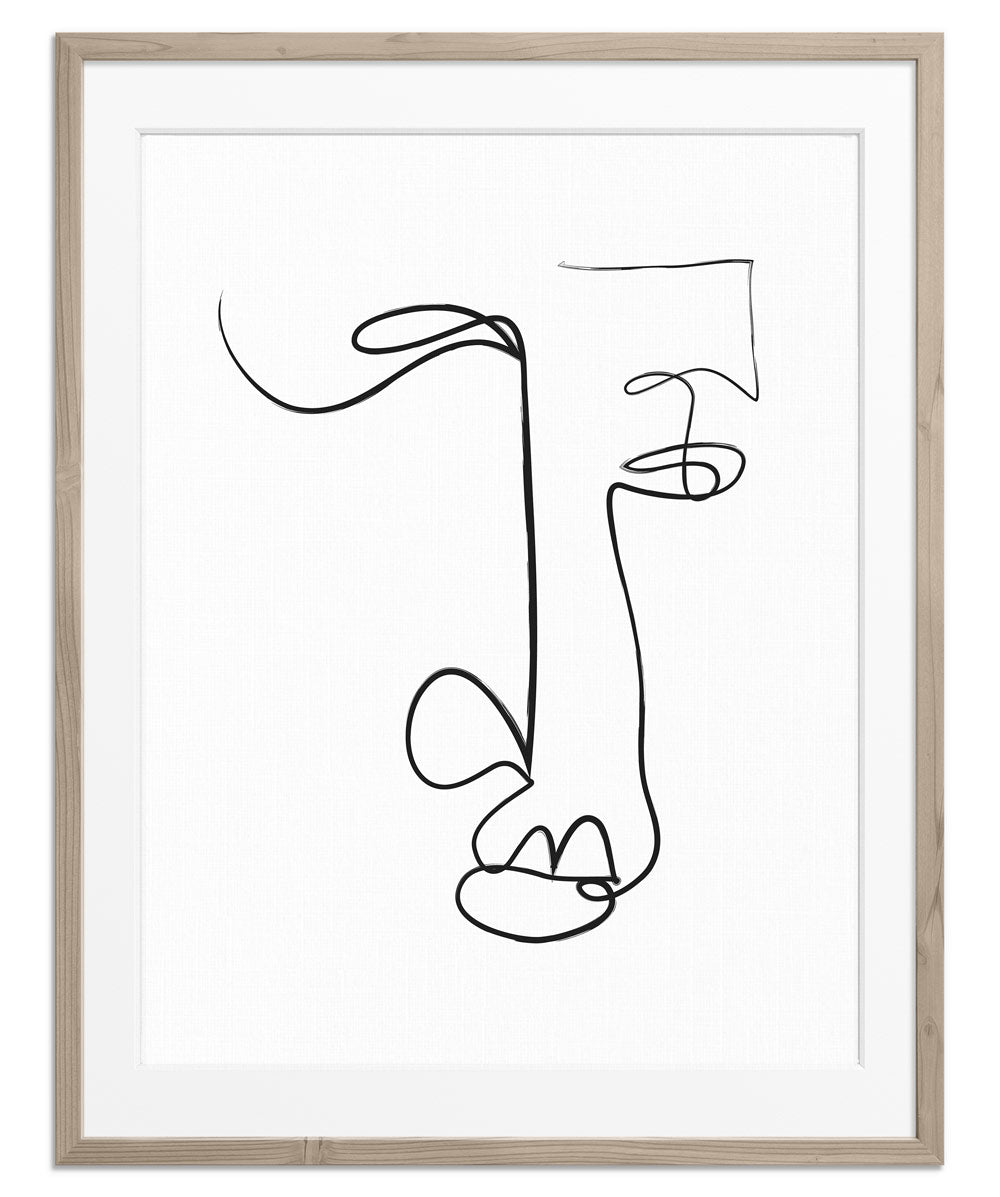 Abstract Face No.1 | Fine Art Print