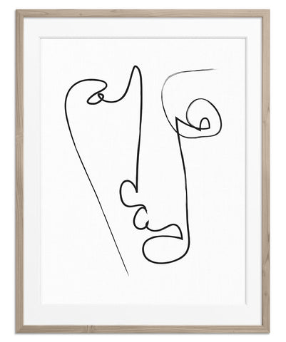 Abstract Face No.2 | Fine Art Print