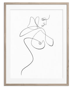 Figurative Woman No.3 | Fine Art Print