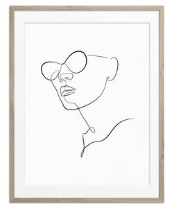 Sunglasses At Night | Fine Art Print