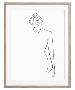 Figurative Woman No.4 | Fine Art Print