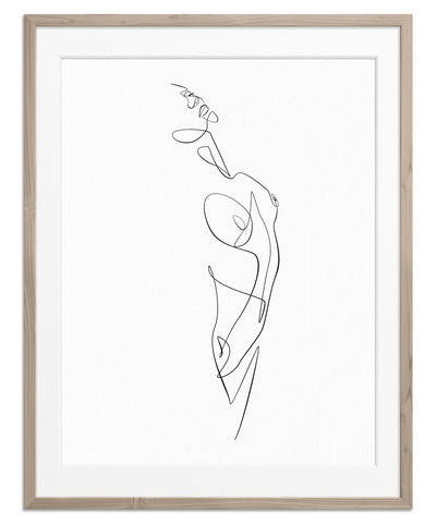 Figurative Woman No.5 | Fine Art Print