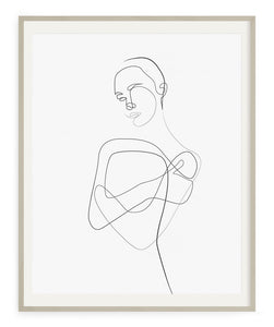 Gentle Shoulder- Printable Wall Art.