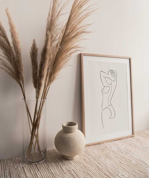 Woman Outline No.12- Printable Wall Art