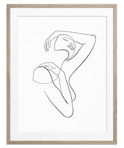 Shoulder Rest | Fine Art Print