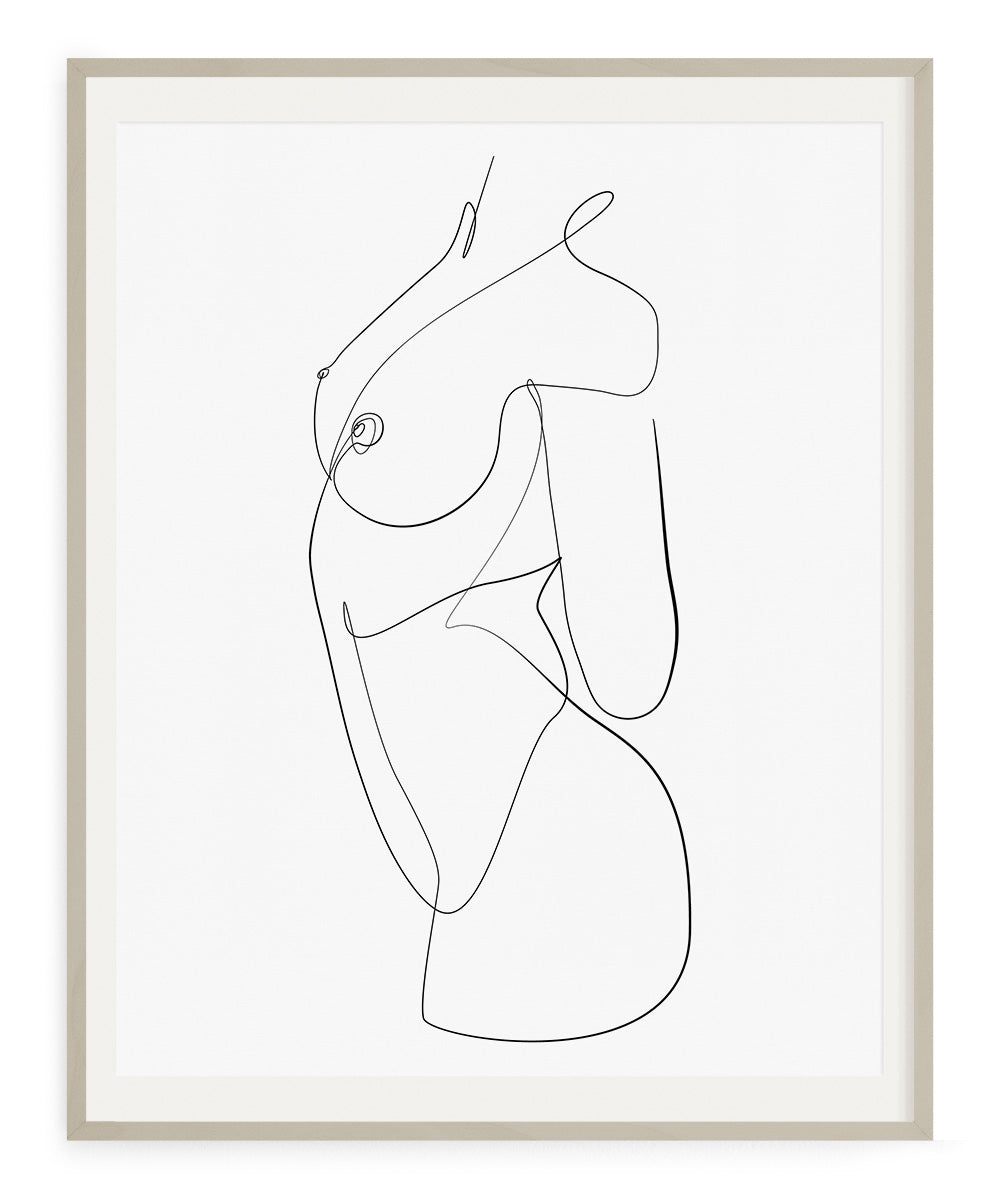 Abstract Body No.2- Printable Wall Art