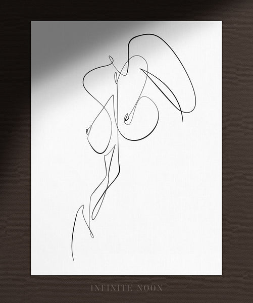Abstract Body Form | Fine Art Print