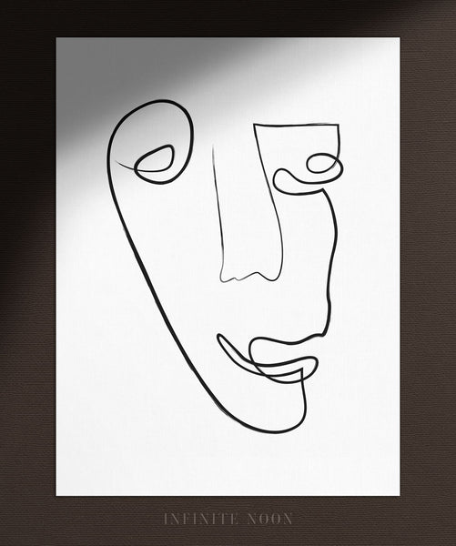 Abstract Face No.6 | Fine Art Print