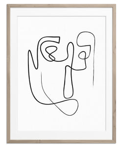 Abstract Face No.7 | Fine Art Print