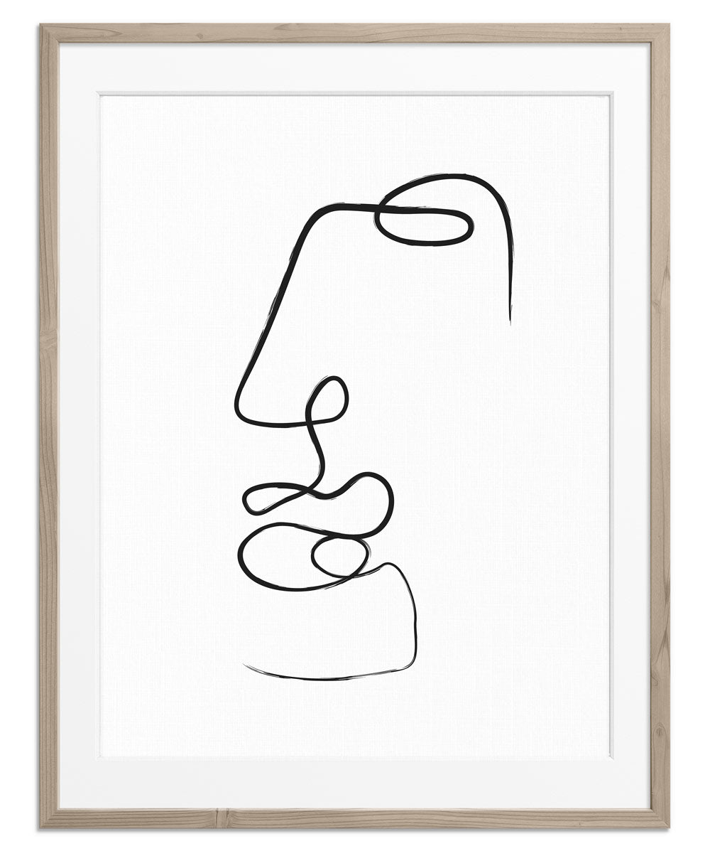 Abstract Face No.8 | Fine Art Print