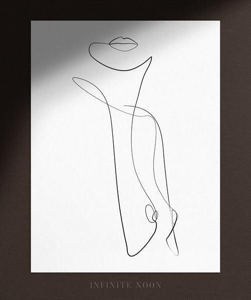 Abstract Female Torso | Fine Art Print
