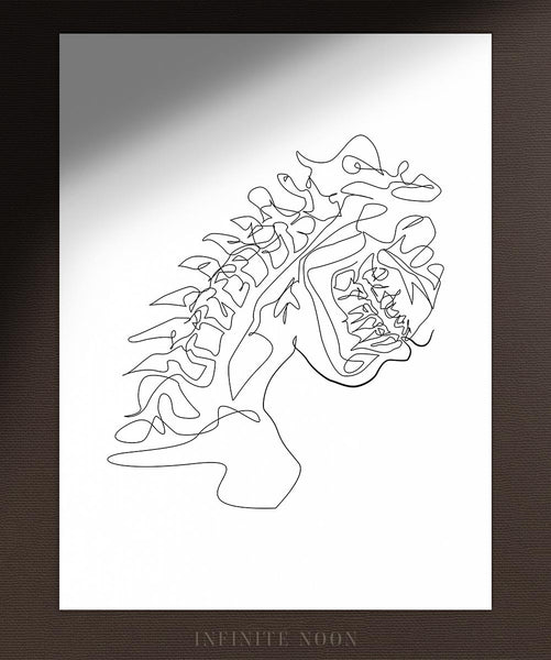 Mouth X-Ray | Fine Art Print