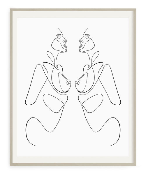 Twins- Printable Wall Art