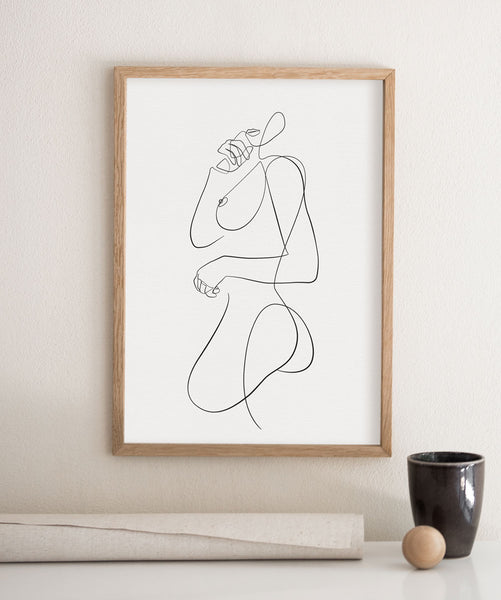 Figurative Woman Pose No.2