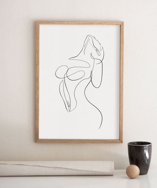 Feminine Exotic Pose No.2 | Fine Art Print