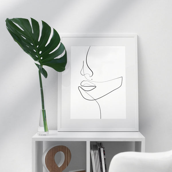 Continuous Elegance- Printable Wall Art