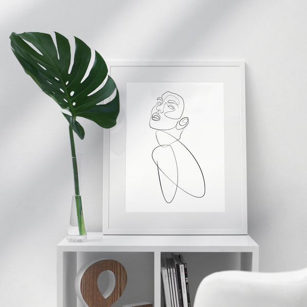 Curved- Printable Wall Art
