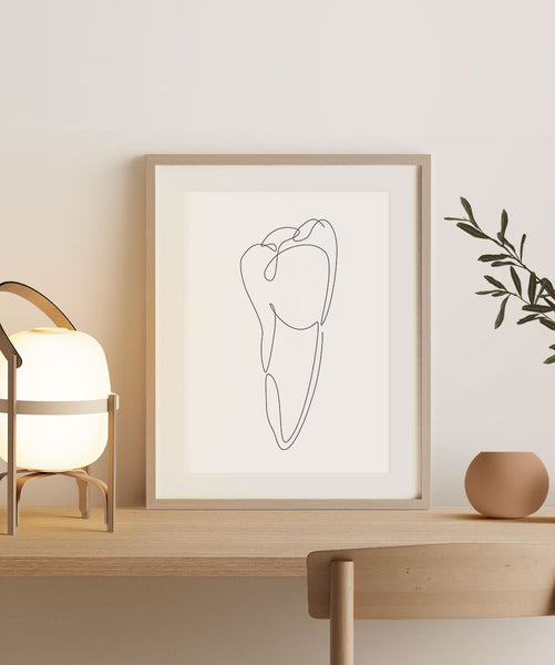 Abstract Canine Tooth | Fine Art Print