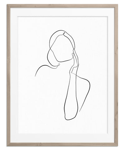 Figurative Woman No.1 | Fine Art Print