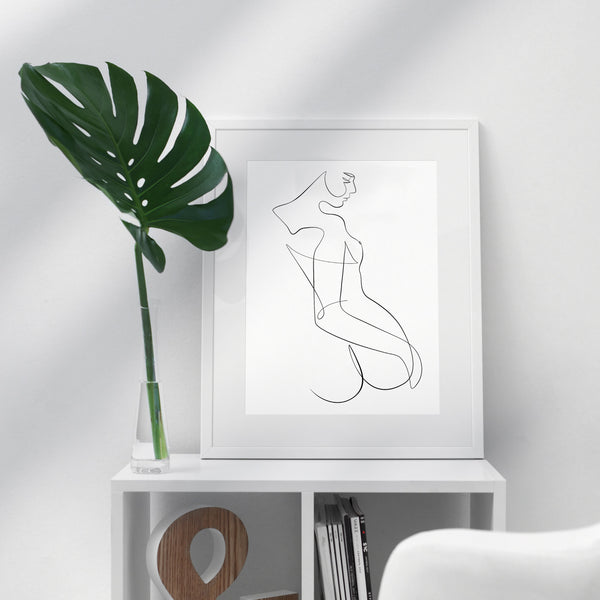 Hip Pose- Printable Wall Art