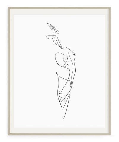 Figurative Woman No.5- Printable Wall Art