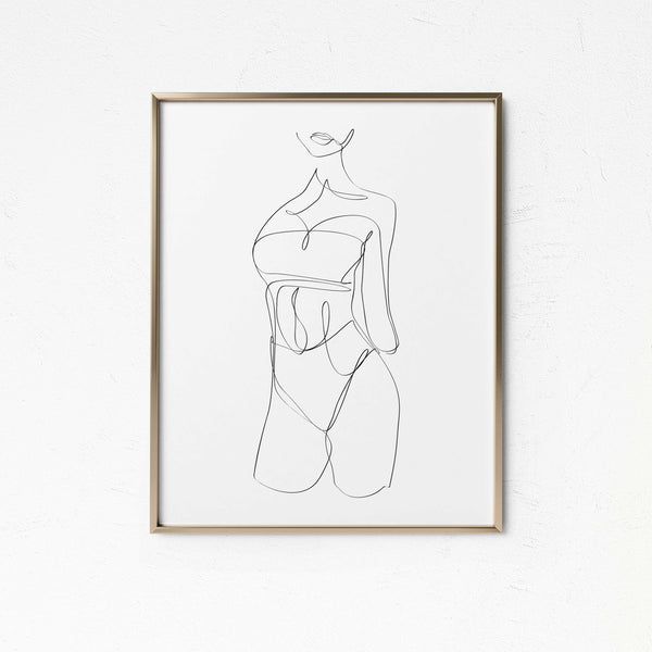 Swimsuit Life- Printable Wall Art