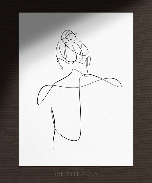 Woman's Back No.1 | Fine Art Print