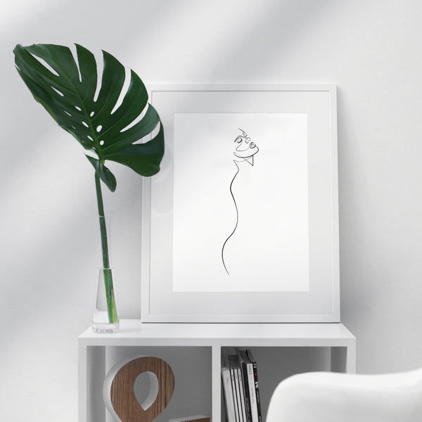 Calmed- Printable Wall Art