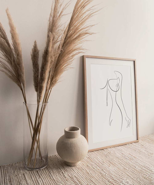 Woman Outline No.22 | Fine Art Print