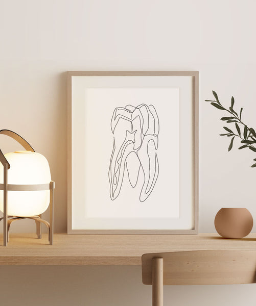 Abstract Tooth No. 2 | Fine Art Print