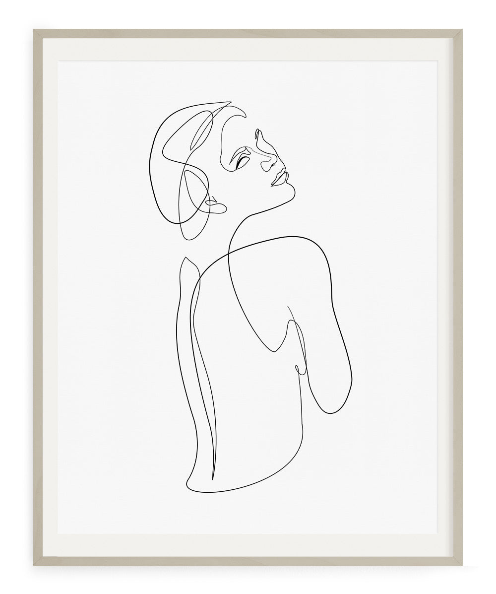 Woman's Back No.4- Printable Wall Art