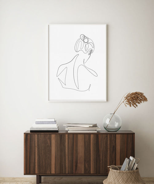 Woman's Back No.3- Printable Wall Art
