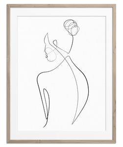 Woman's Back No.2 | Fine Art Print